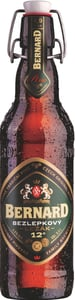 Bernard bezlepkový ležák pivo lahev