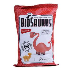 BioSaurus BIO Kukuřičný snack - kečup