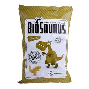 BioSaurus BIO Kukuřičný snack sýrový
