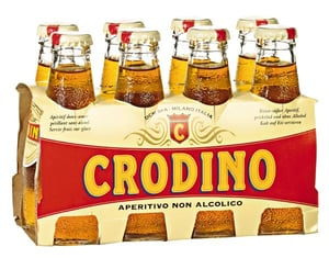 Crodino Bitter nealkoholický aperitiv PACK 8ks