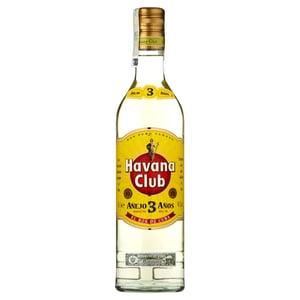 Havana Club Aňejo 3 Aňos kubánský bílý rum
