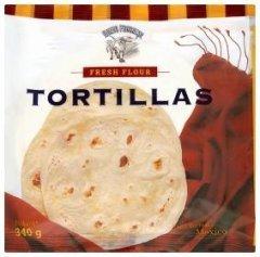 Nuevo Progreso Mexické pšeničné tortilly 16cm 10 ks
