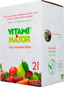Vitaminátor 100 % vylisovaná šťáva jablko - rybíz