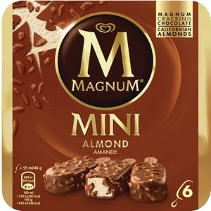 Magnum Mini Almond 6x55 ml