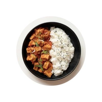 Tofu vrajčatové omáčce