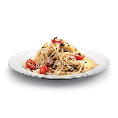 Špagety s tuňákem