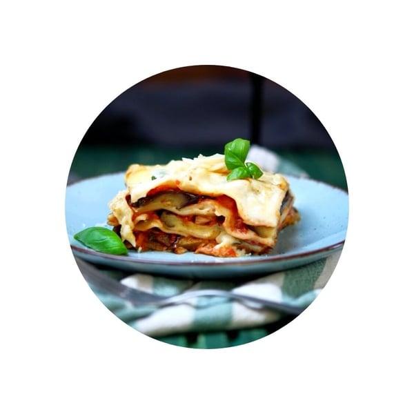 Lilkové lasagne parmigiana