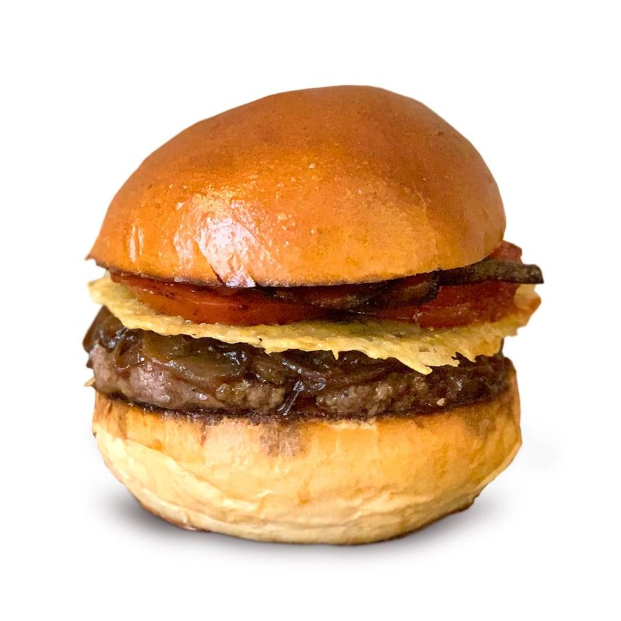 Savory burger z bistra Dish