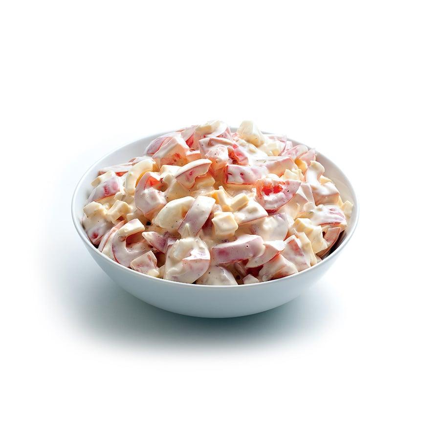 Rajčatový salát smajonézou