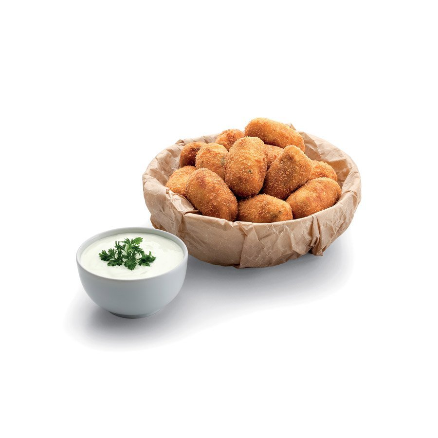 Chicken croquettes with aioli sauce