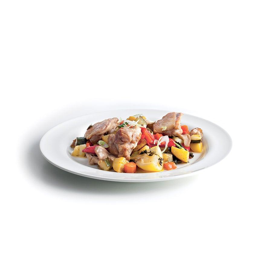 Kuře v hrnci