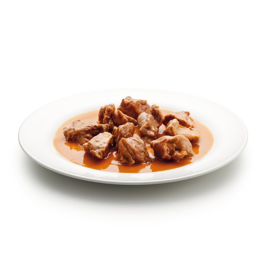 Veal with paprika