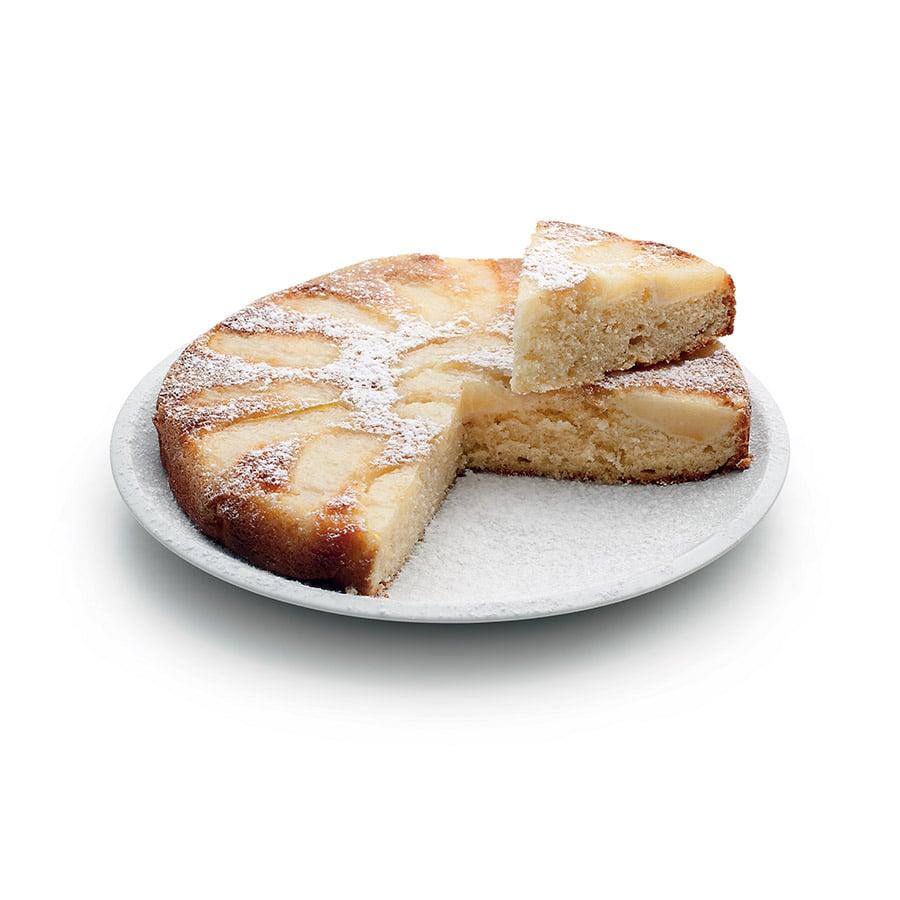 Obrácený hruškový koláč