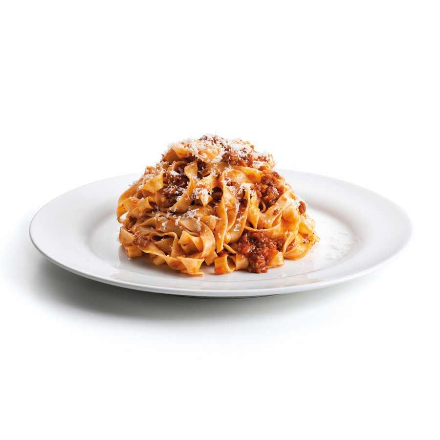 Pasta with bolognese ragout