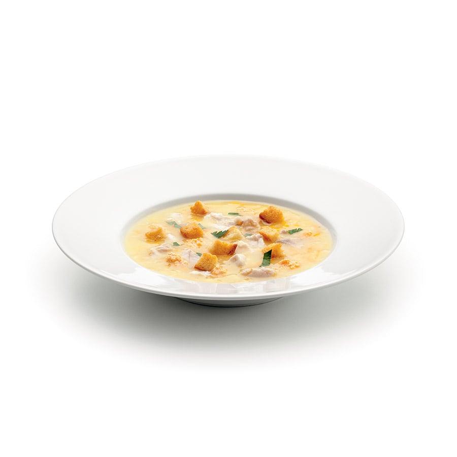Vánoční polévka z kapra