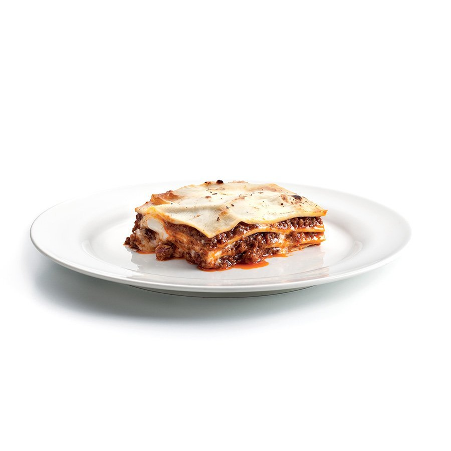 Lasagne with bolognese ragout