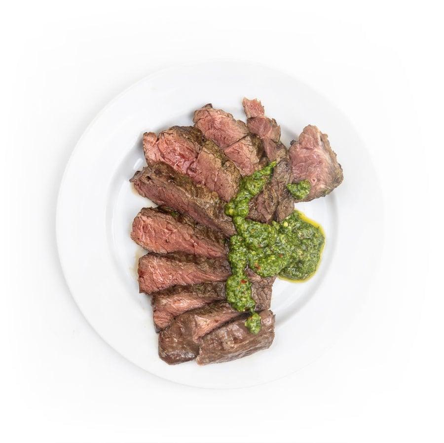 Hovězí steak s chimichurri omáčkou