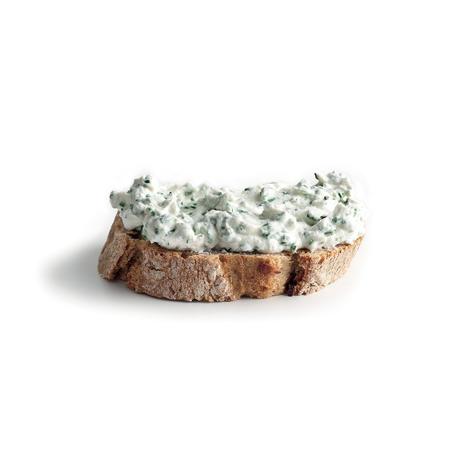 Cream cheese and chive spread